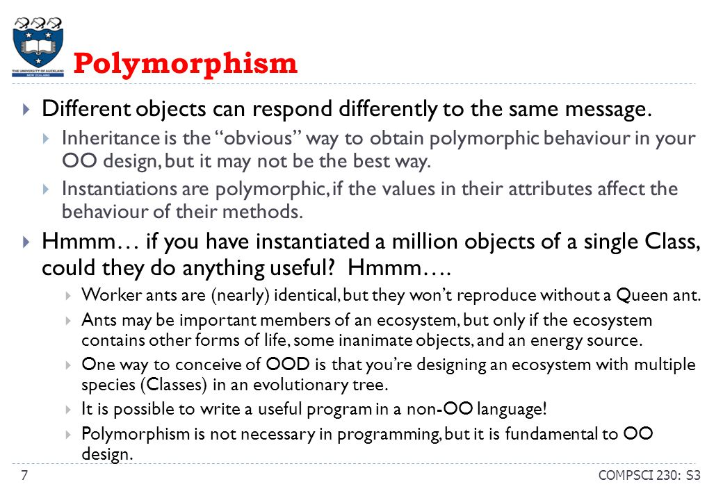 OO Analysis: Basic Questions COMPSCI 230: S38  What classes and instances should be in my high-level design.