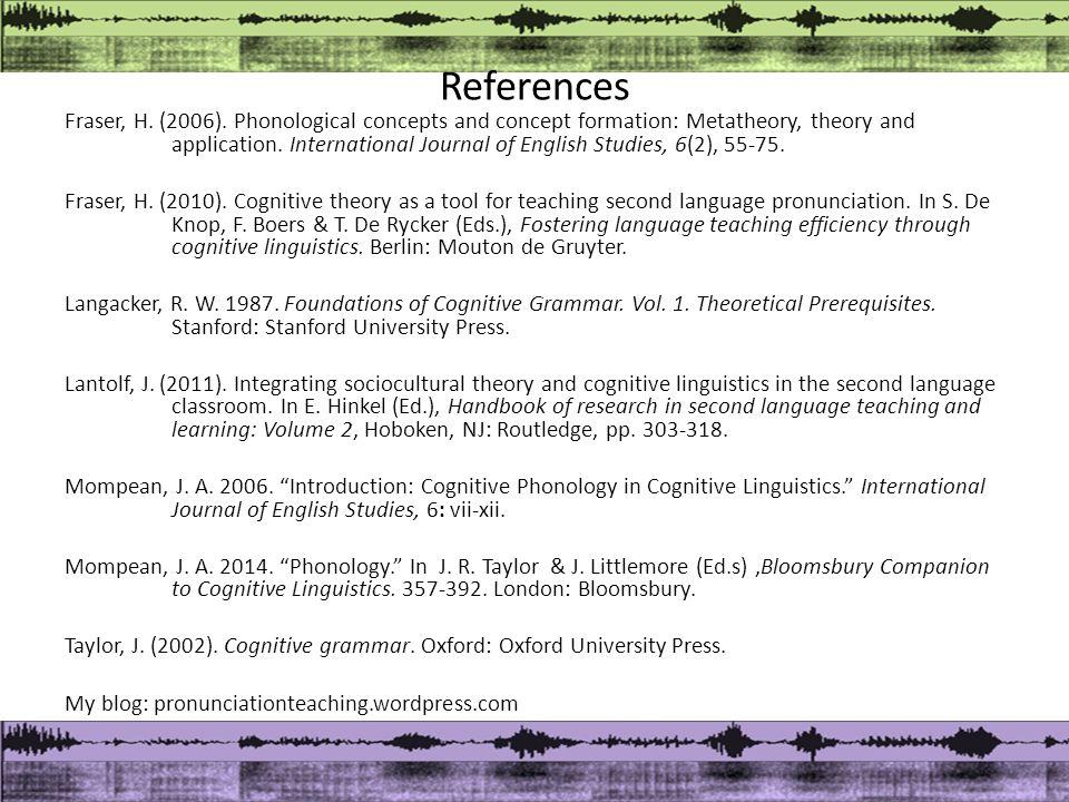 References Fraser, H. (2006).