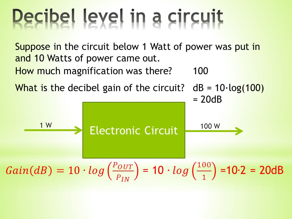 Suppose in the circuit below 1 Watt of power was put in and 10 Watts of power came out.