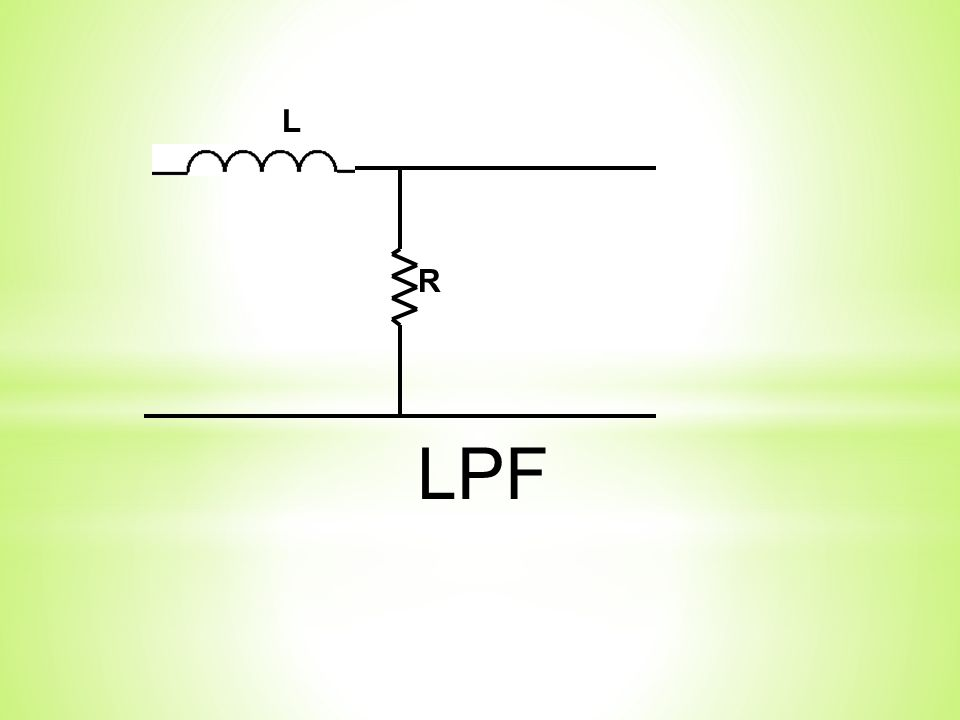 R L LPF