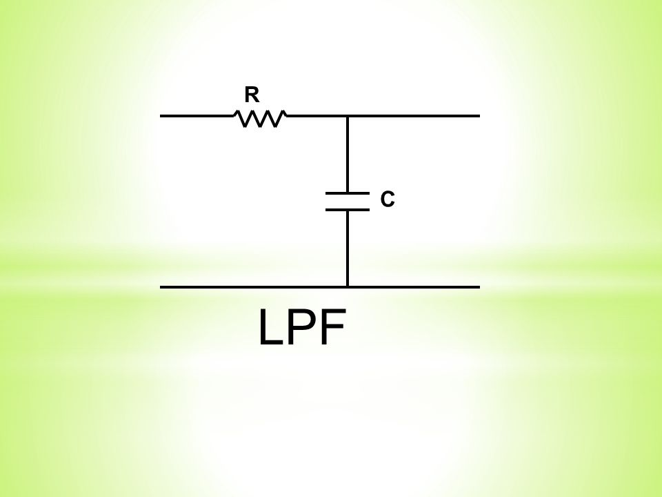 C R LPF
