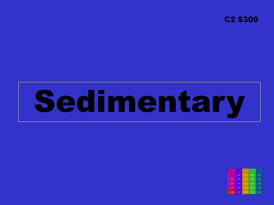 C2 $300 Sedimentary