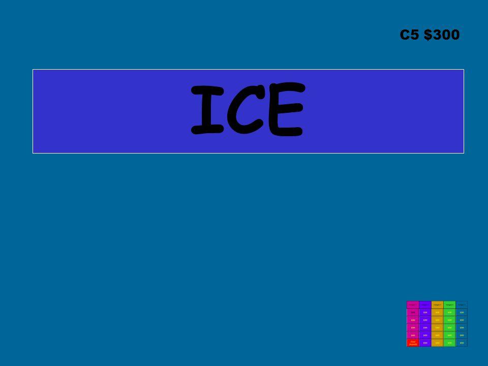 C5 $300 ICE