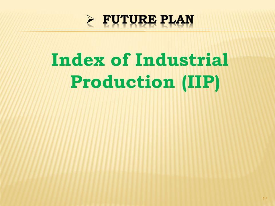 Index of Industrial Production (IIP) 17