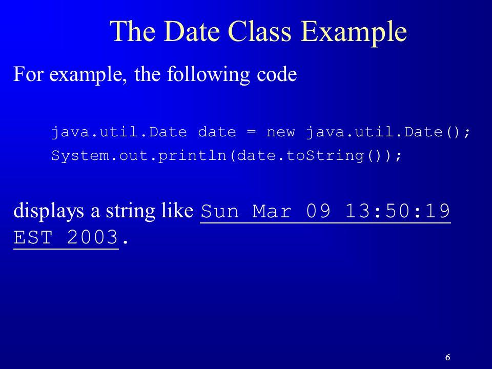 17 Trace Code JFrame frame1 = new JFrame(); frame1.setTitle( Window 1 ); frame1.setSize(200, 150); frame1.setVisible(true); JFrame frame2 = new JFrame(); frame2.setTitle( Window 2 ); frame2.setSize(200, 150); frame2.setVisible(true); reference frame1 : JFrame title: Window 1 width: 200 height: 150 visible: true reference frame2 : JFrame title: Window 2 width: height: visible: Set title property animation