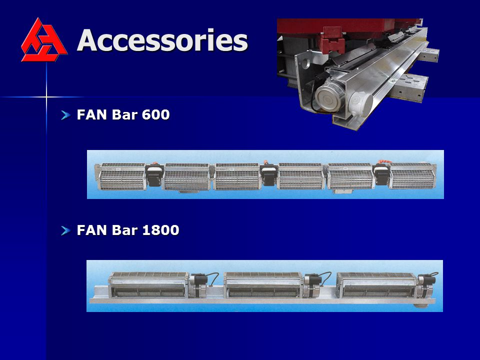Accessories FAN Bar 600 FAN Bar 600 FAN Bar 1800 FAN Bar 1800