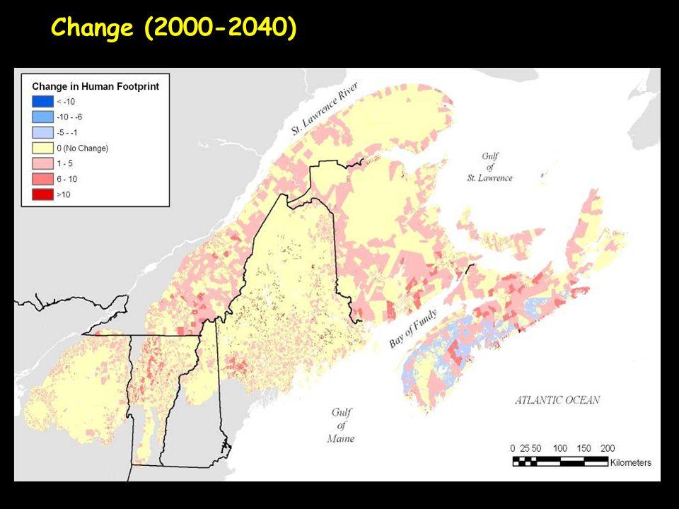 Change (2000-2040)