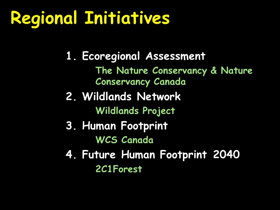 Normalize by Ecological-Subregions