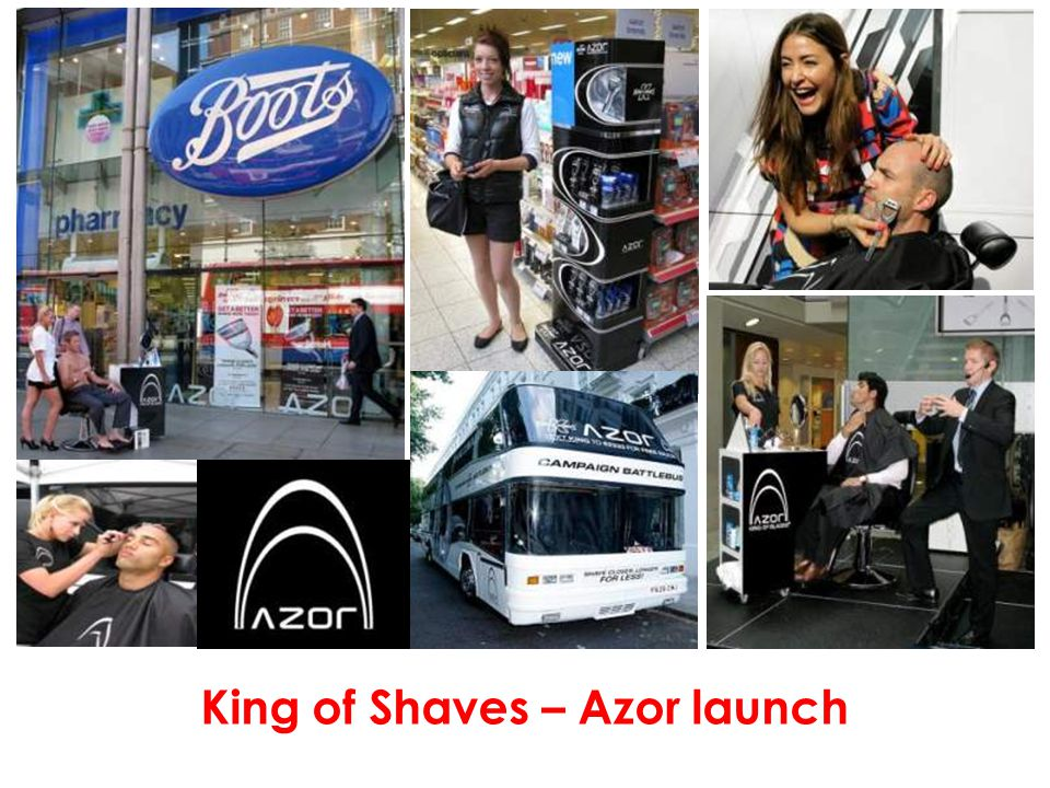 King of Shaves – Azor launch