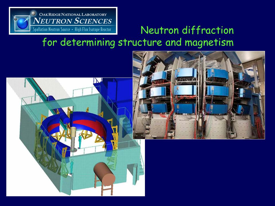 Neutron diffraction for determining structure and magnetism