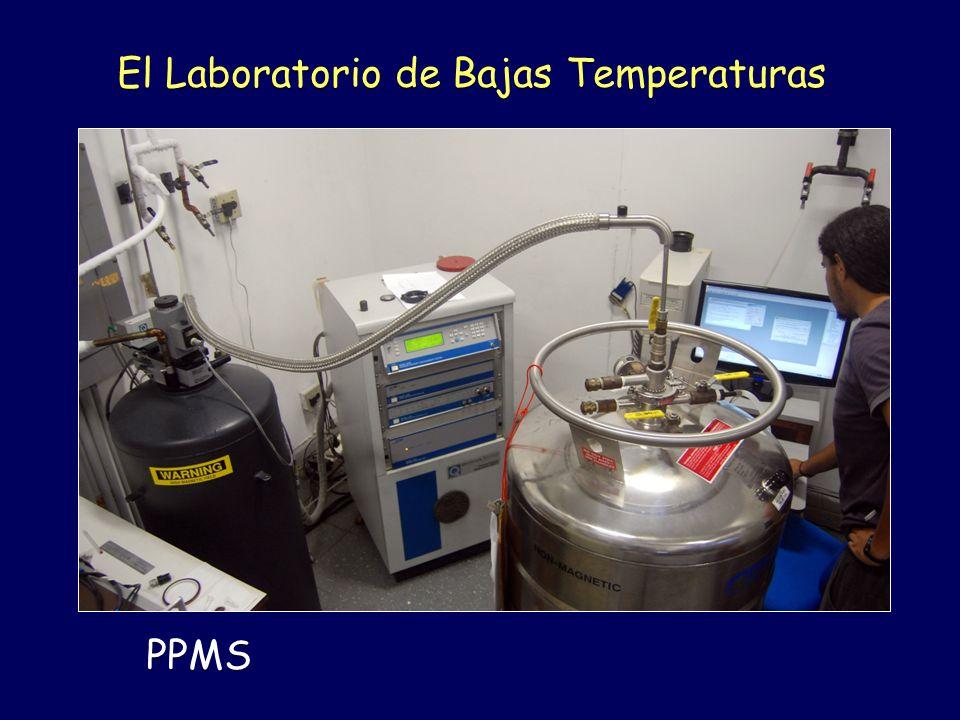 El Laboratorio de Bajas Temperaturas PPMS