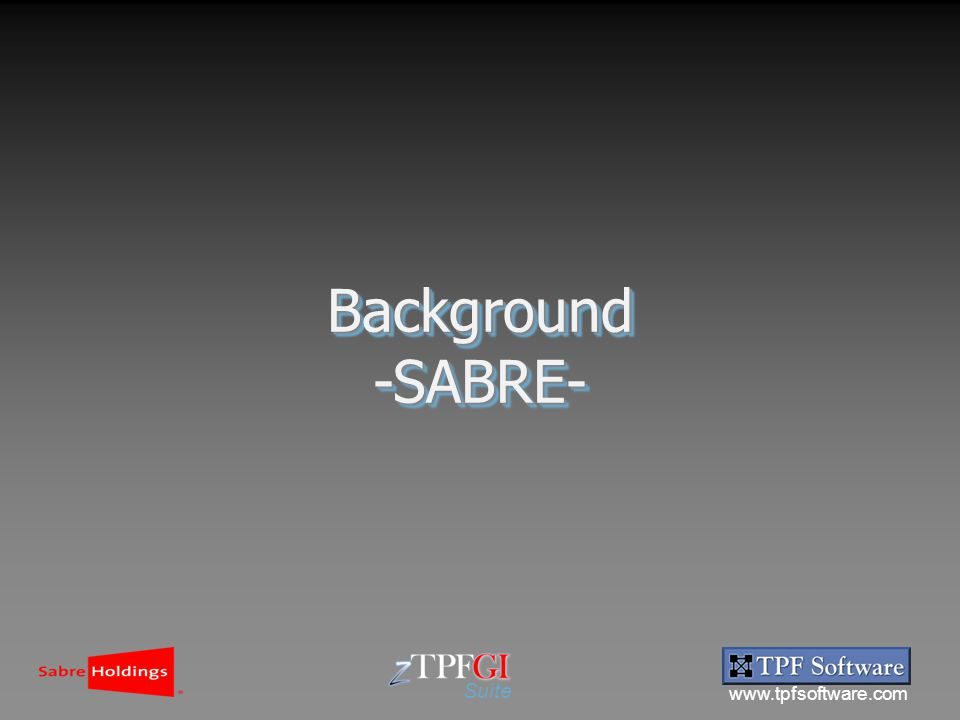 www.tpfsoftware.com Suite Background-SABRE-Background-SABRE-