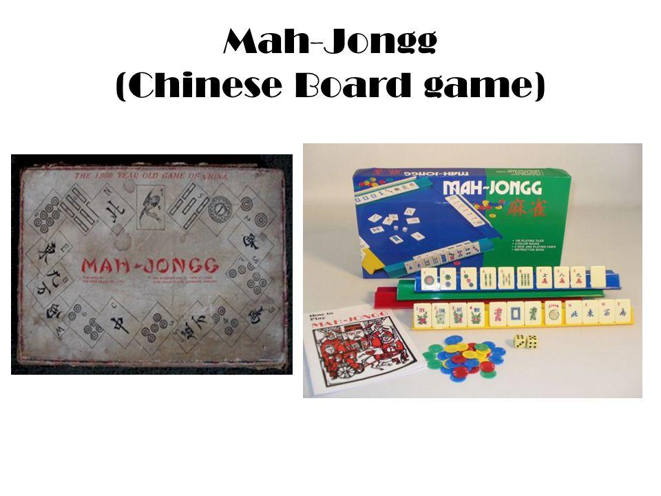 Mah-Jongg (Chinese Board game)