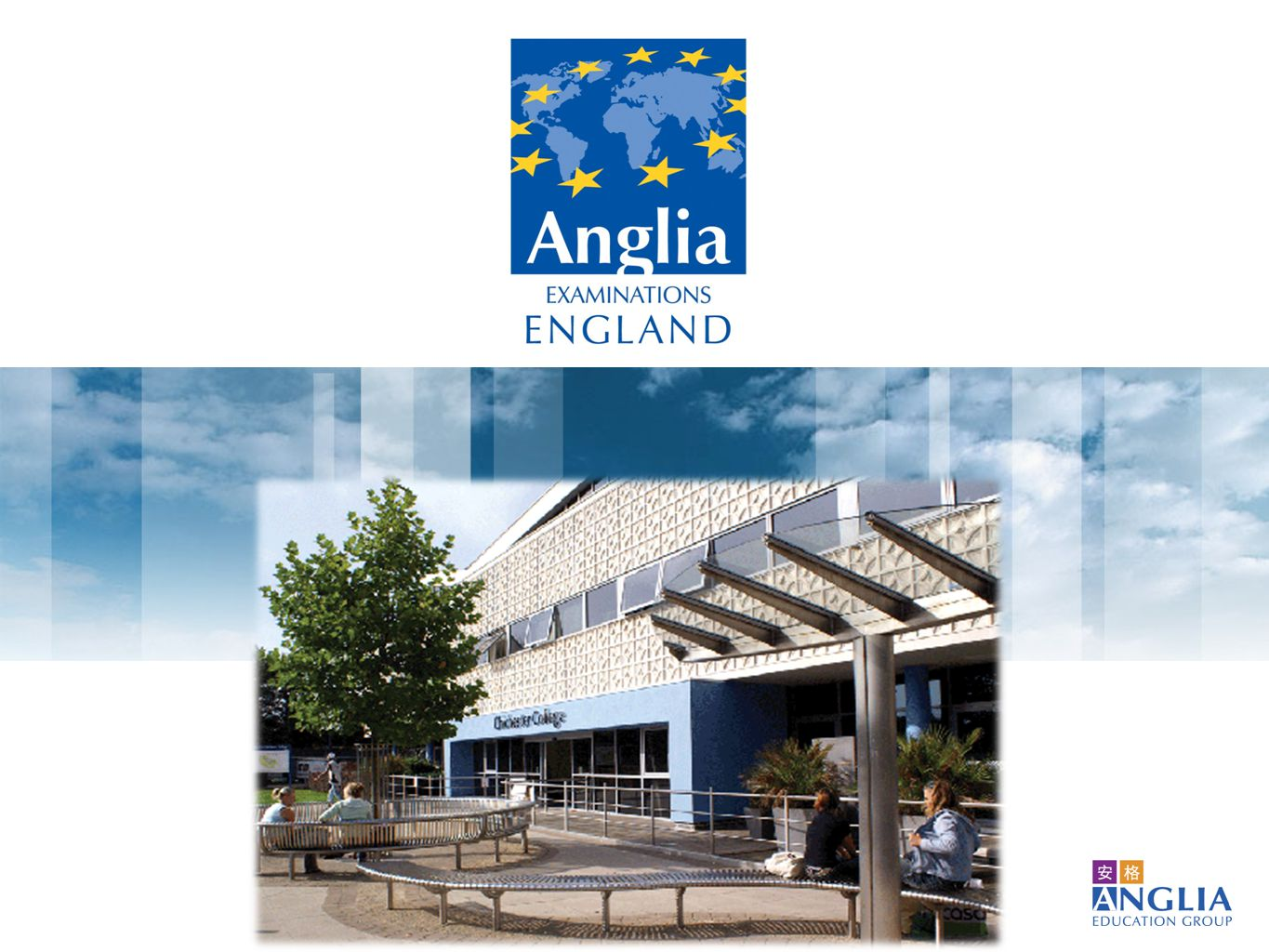 Ascentis Anglia ESOL International Examinations 可取得專為 Anglia 國際英檢綱要內容設計的學習資源 English learning resources especially aligned to Anglia's syllabus available 國內外承認並正式與 CEFR ( 歐洲語言學習、教學、評量共同參考架構 ) 對應 Internationally and locally recognized and officially aligned to the CEFR Anglia 國際英檢在全球四十二個國家有超過有十八年的經驗 Over 18 years experience, in 42 countries Anglia's Advantage