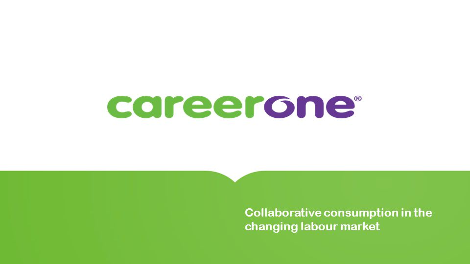Collaborative consumption in the changing labour market