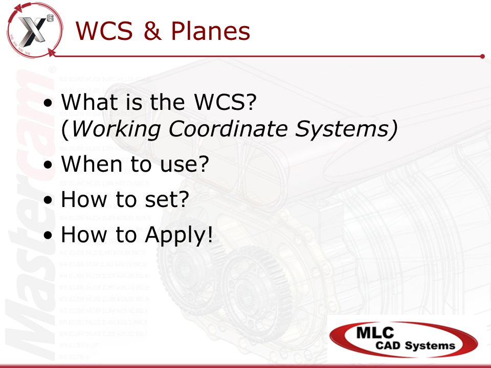 WCS & Planes What is the WCS? (Working Coordinate Systems) When to use? How to set? How to Apply!
