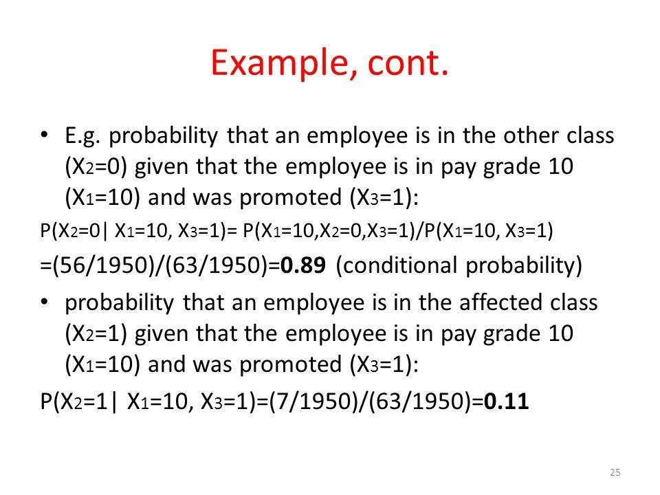 Example, cont. E.g.
