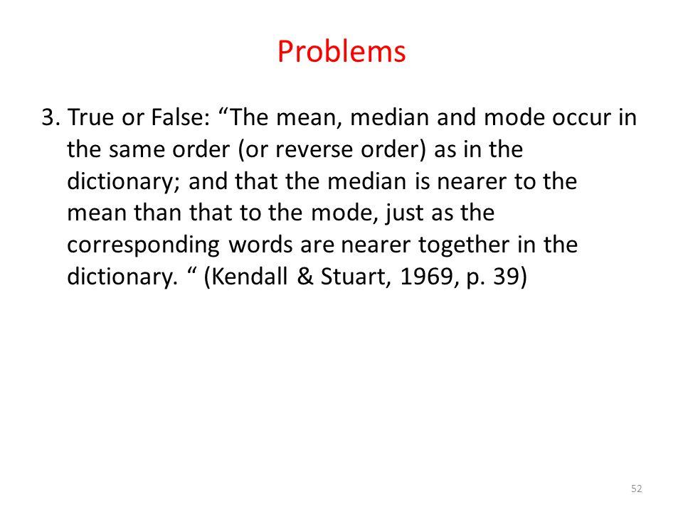 Problems 3.