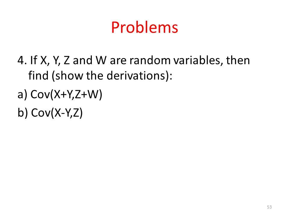 Problems 4.