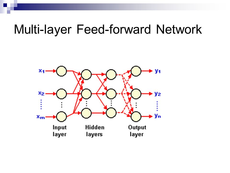 Multi-layer Feed-forward Network