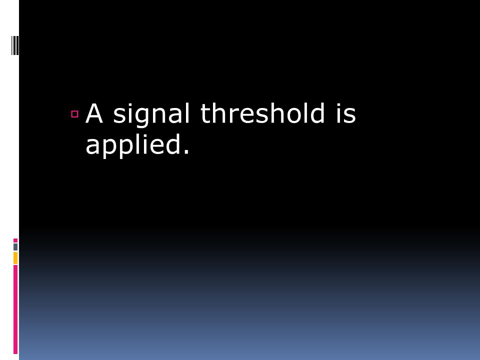 If the summed signal > threshold, the neuron fires