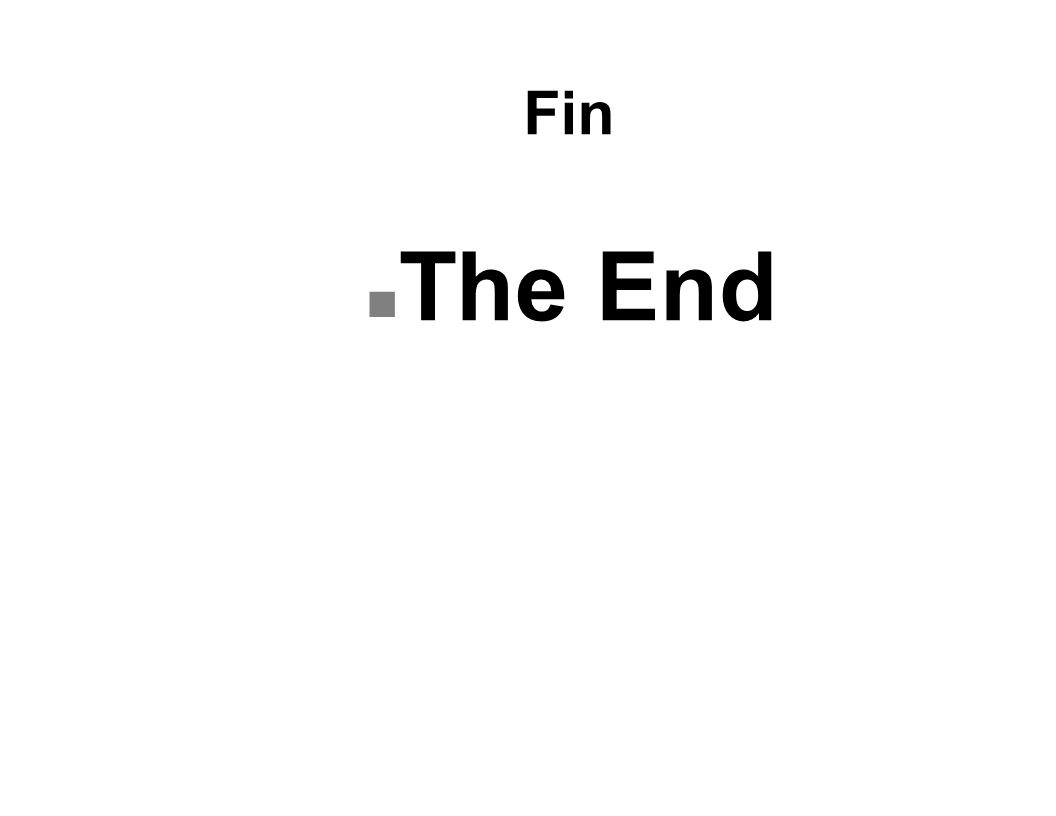 Fin n The End
