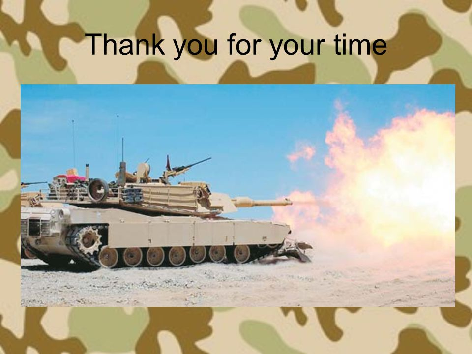 Thank you for your time
