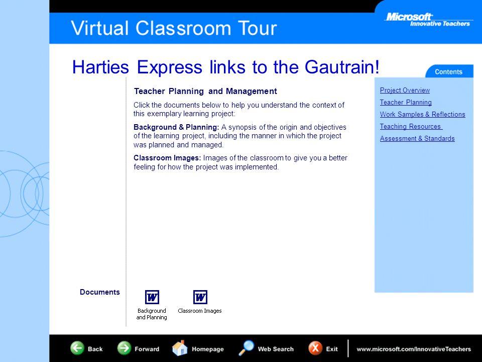 Harties Express links to the Gautrain.