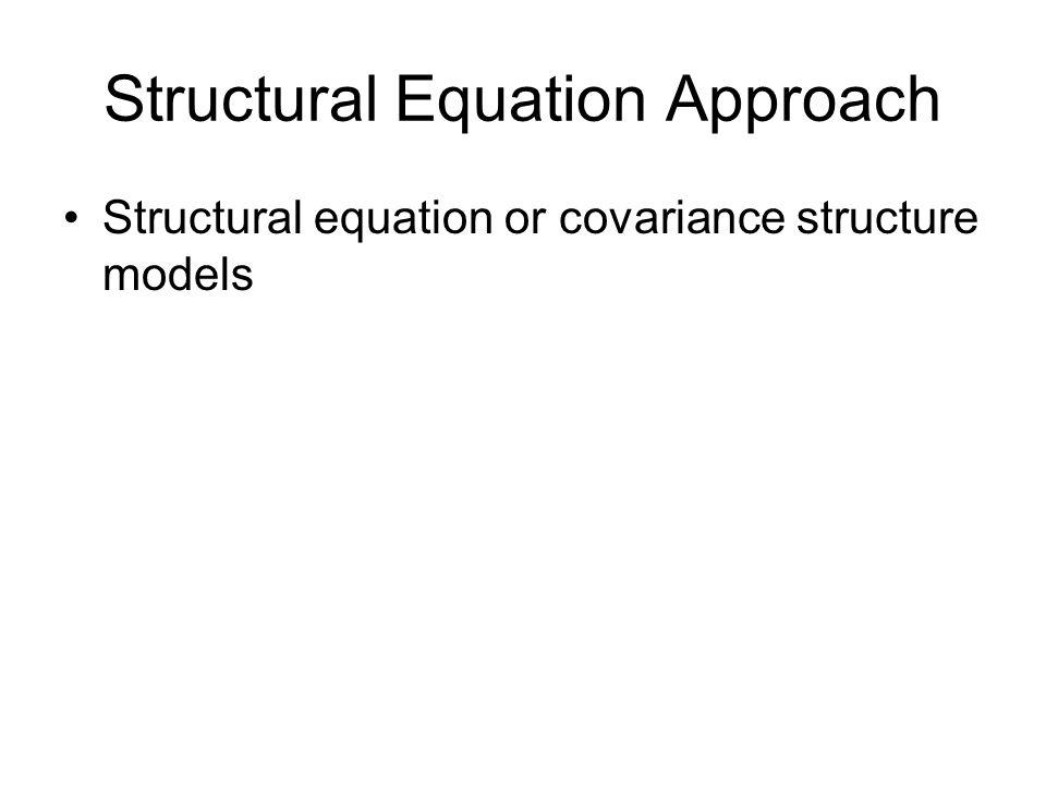 Components Latent variables (endogenous) Manifest variables (exogenous) Residual variables Covariances Influences
