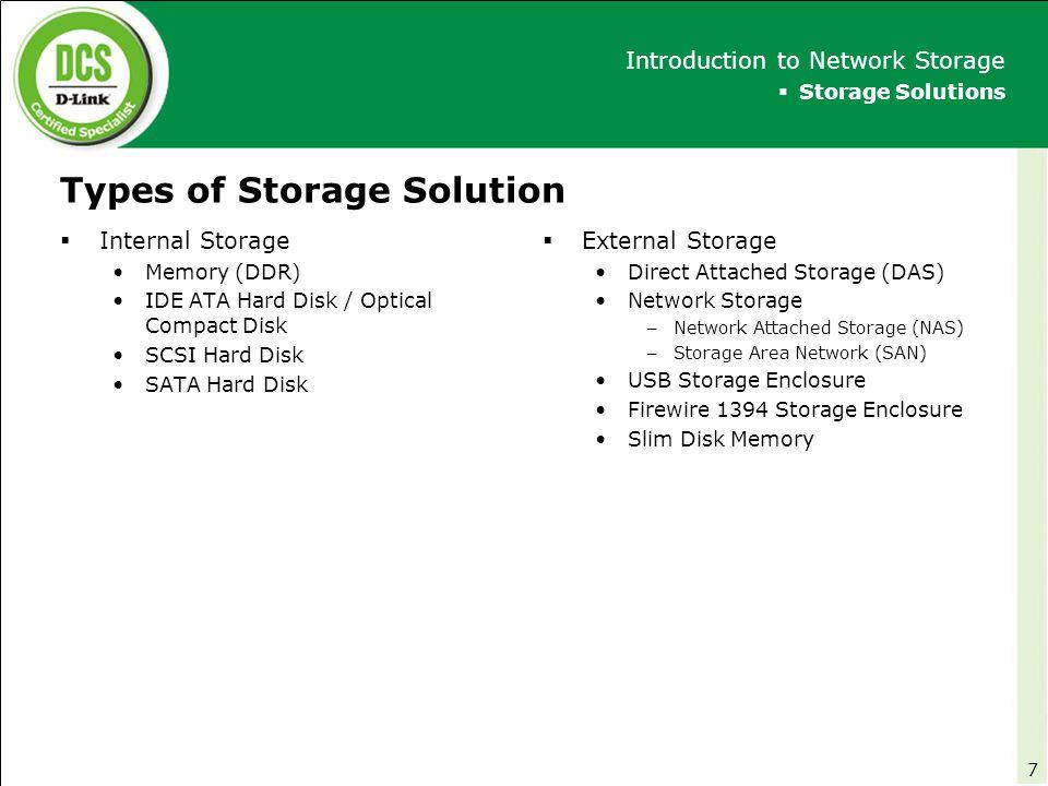 DCS – Storage RAID Technologies 18