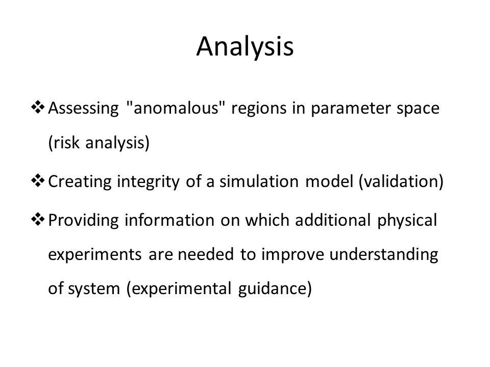 Analysis  Assessing