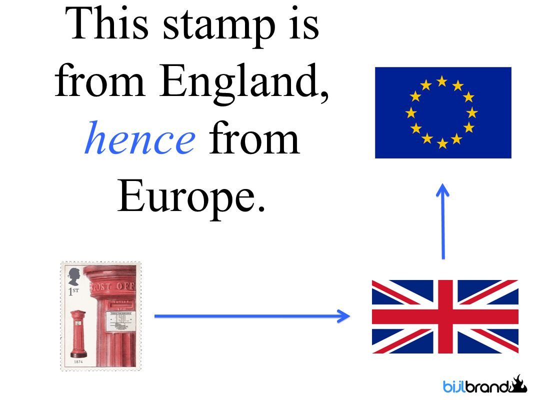 This stamp is from England, hence from Europe.