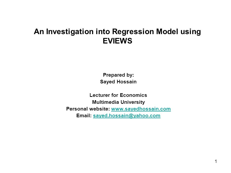 2 Seven assumptions about a good regression model 1.Regression line must be fitted to data strongly.