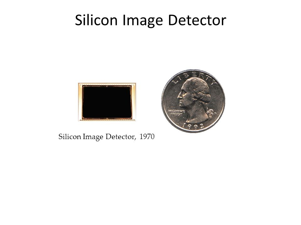 Silicon Image Detector, 1970 Silicon Image Detector