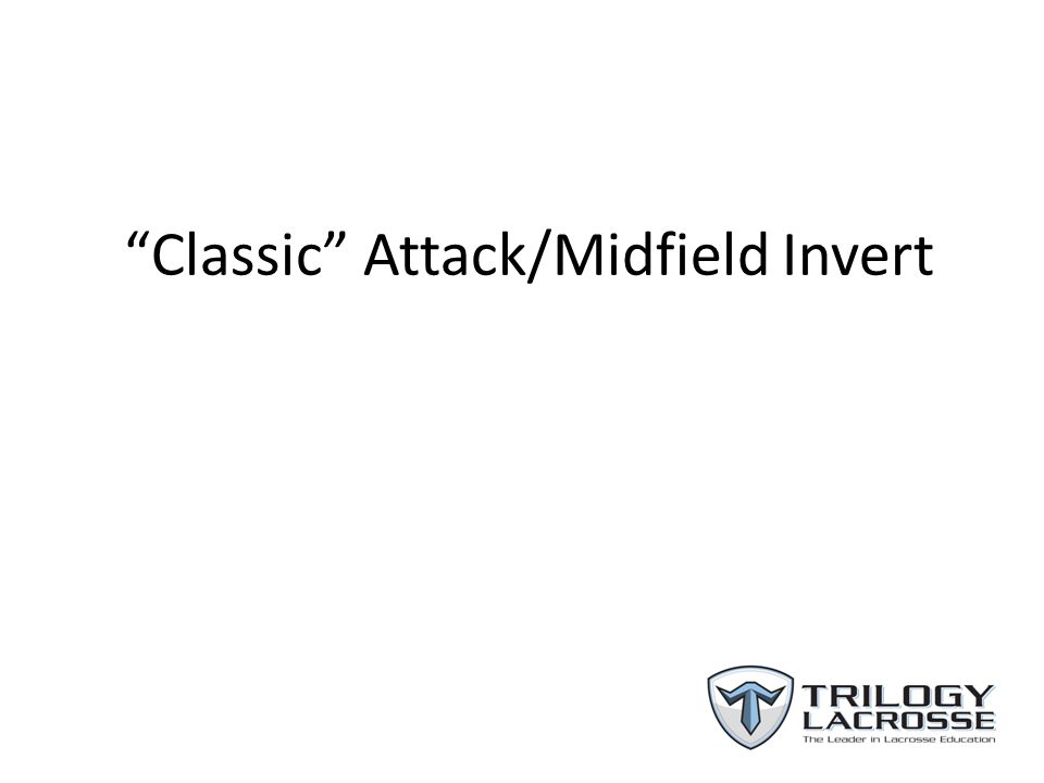 Classic Attack/Midfield Invert