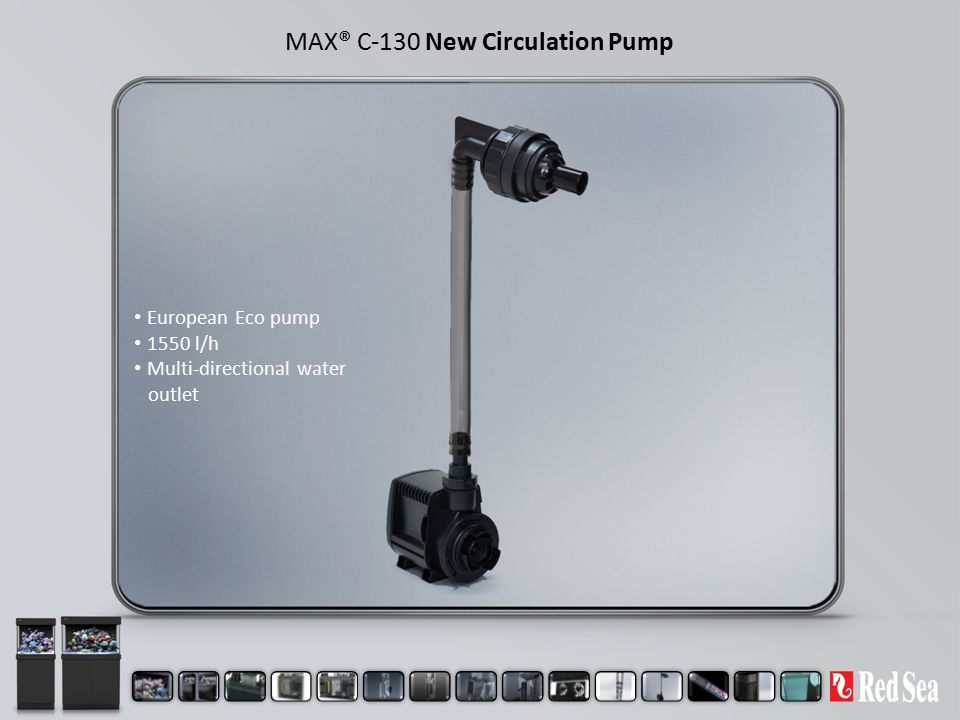 MAX® C-130 New Circulation Pump European Eco pump 1550 l/h Multi-directional water outlet