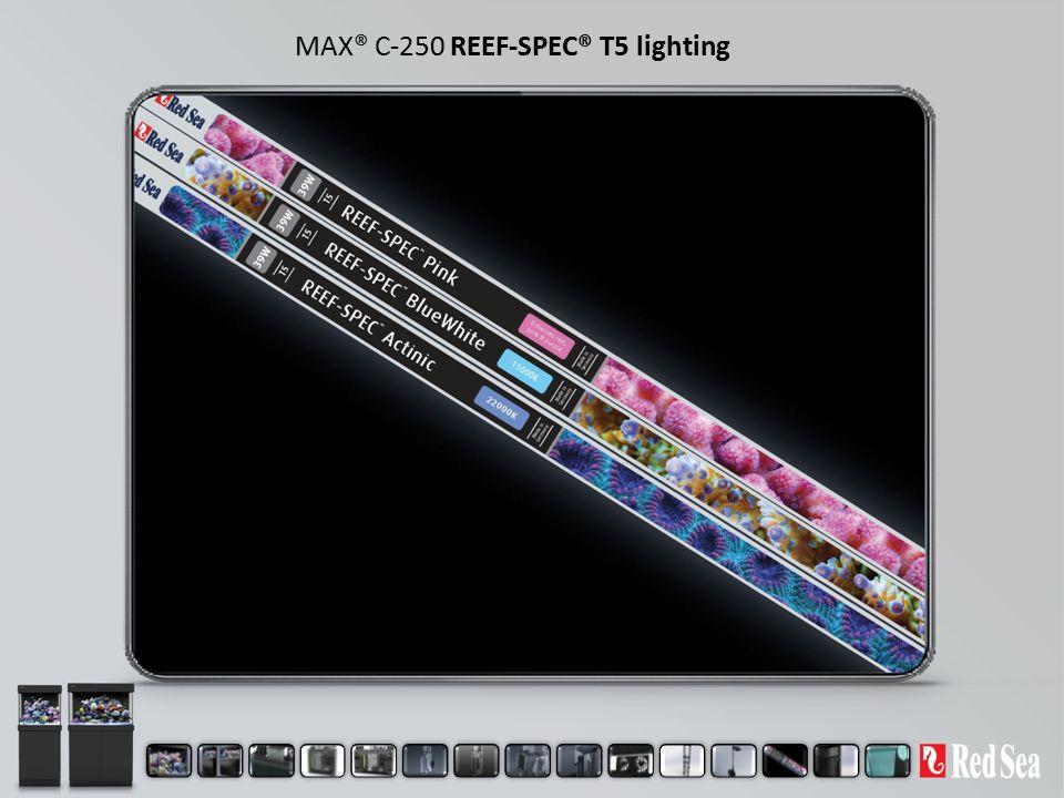 MAX® C-250 REEF-SPEC® T5 lighting
