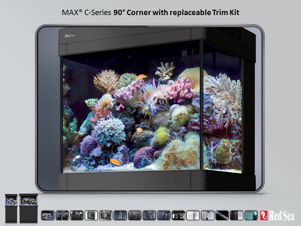 MAX® C-Series 90° Corner with replaceable Trim Kit