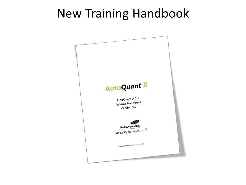 New Training Handbook
