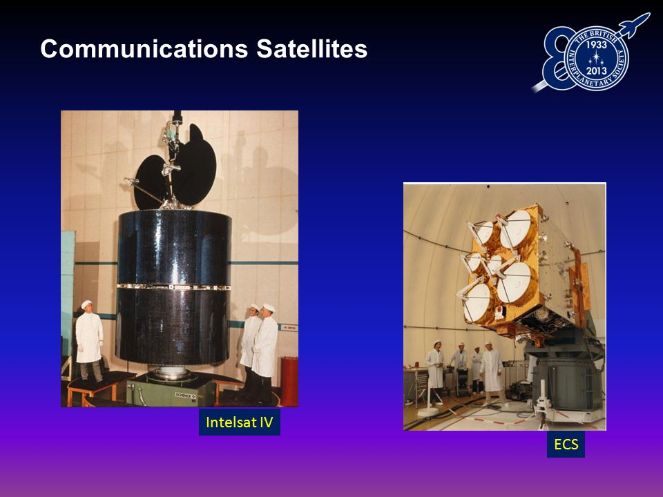 Communications Satellites Intelsat IV ECS