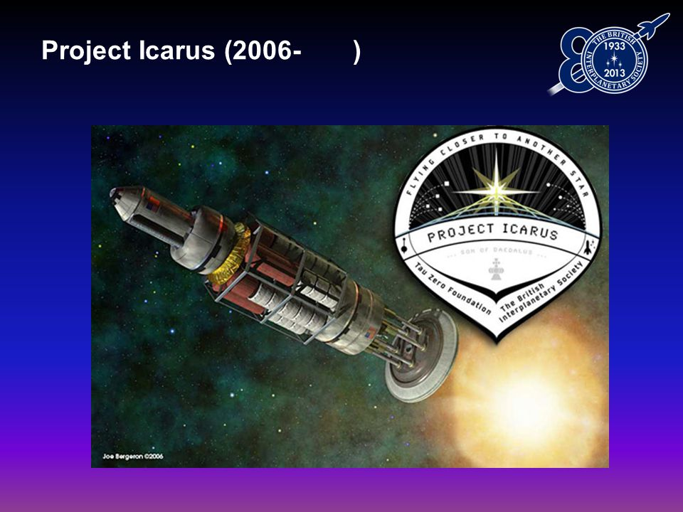 Project Icarus (2006- )