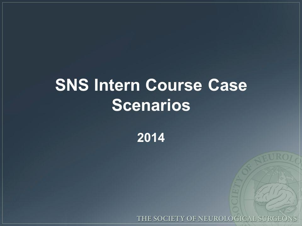 SNS Intern Course Case Scenarios 2014
