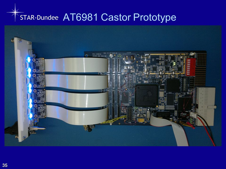 AT6981 Castor Prototype  Photo of PXI Board 35