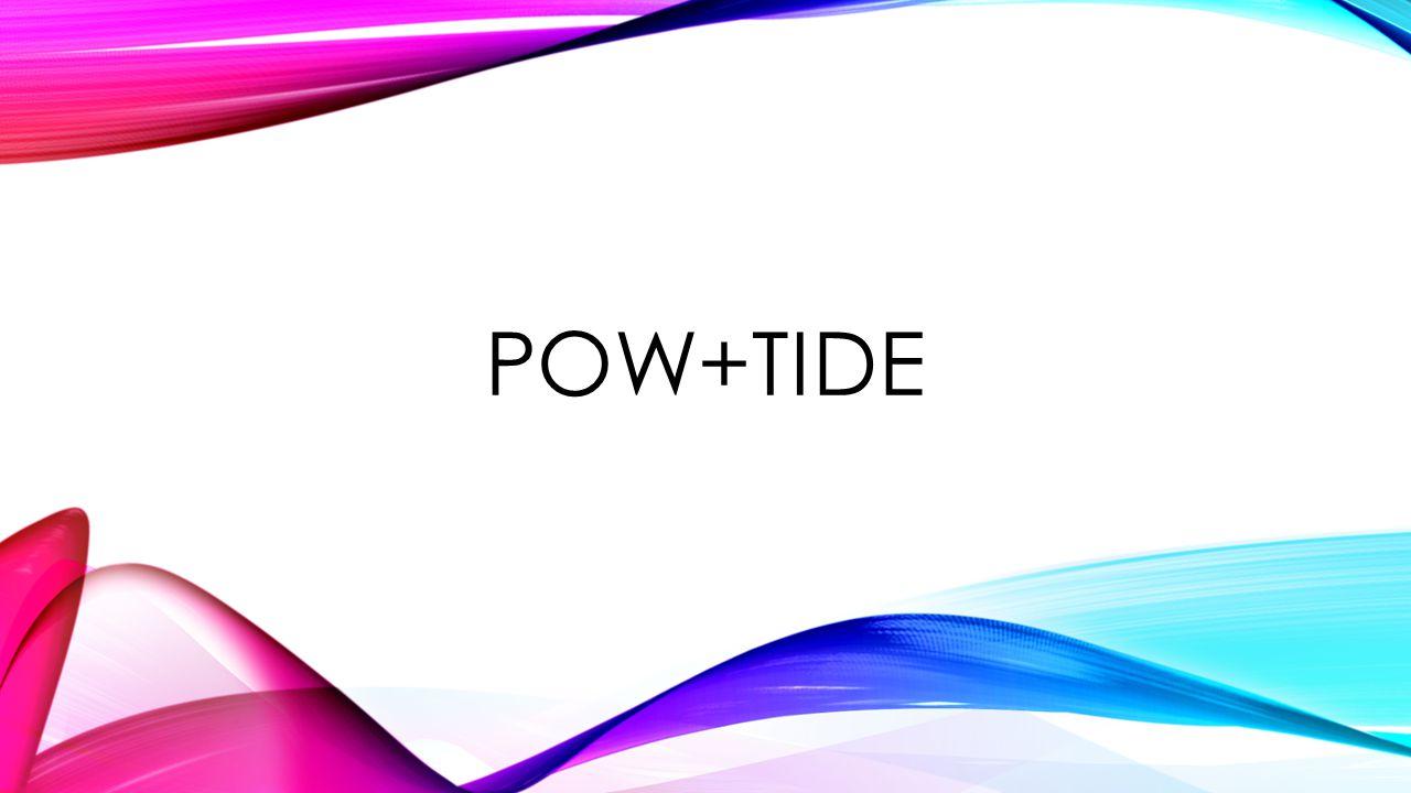 POW+TIDE