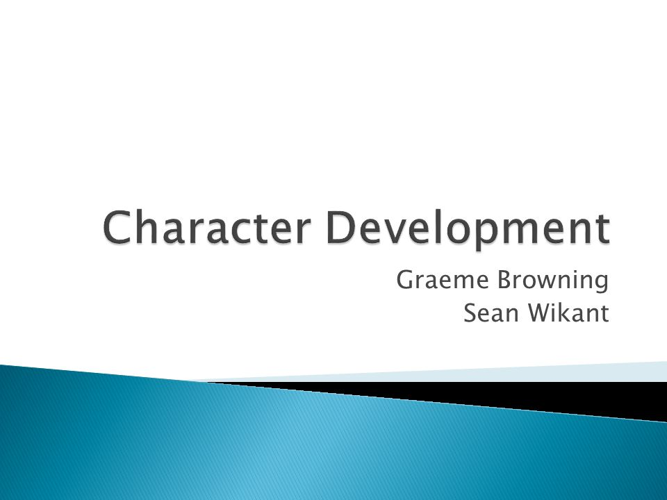  Memorable characters that the player can care about ◦ Can be complex (not hero or villain)  Not a simple challenge.