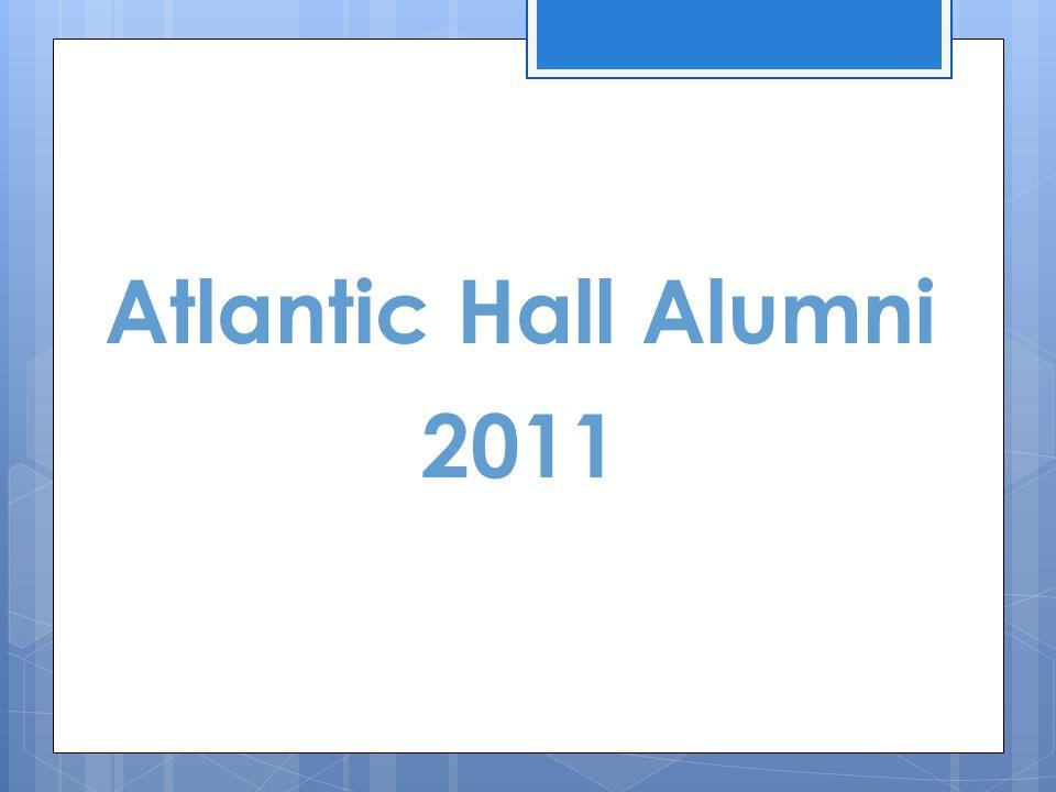 Atlantic Hall Alumni 2011