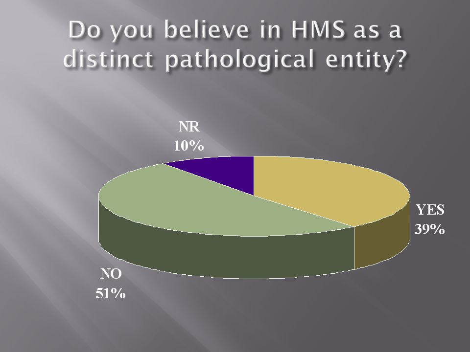 1.DOES THIS STUDY ESTABLISH JHS AS THE MOST COMMON RHEUMATIC DISORDER.