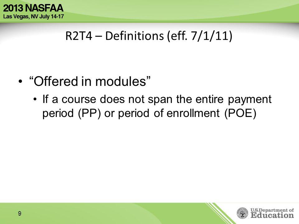 R2T4 – Definitions (eff.