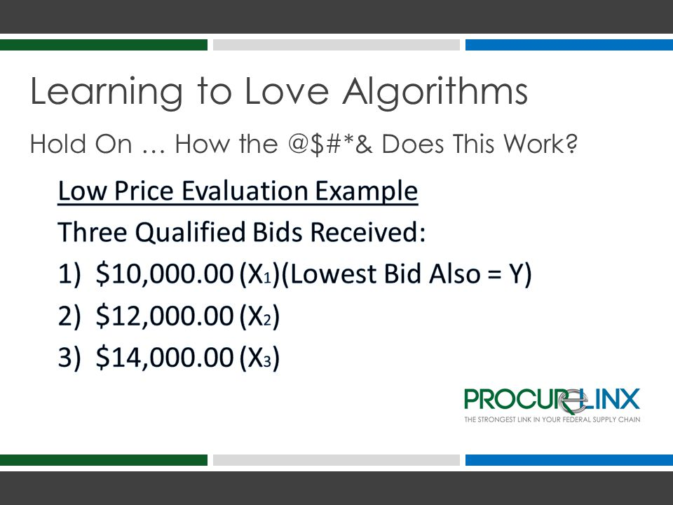Learning to Love Algorithms Hold On … How the @$#*& Does This Work