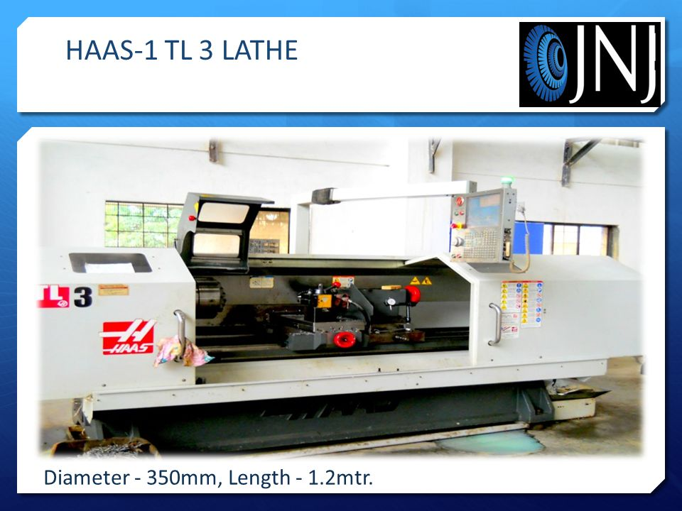 Diameter - 350mm, Length - 1.2mtr. HAAS-1 TL 3 LATHE